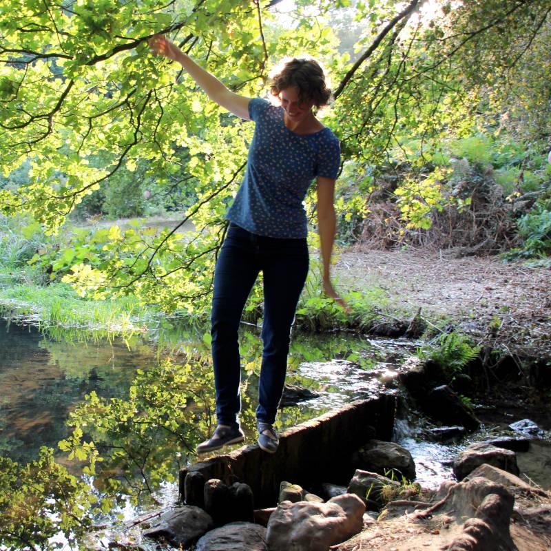 wandelcoach Annemarie in de natuur in Arnhem